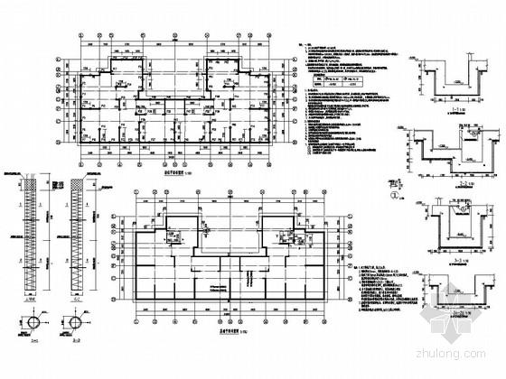 [江苏]34层剪力墙结构高层住宅楼结构施工图