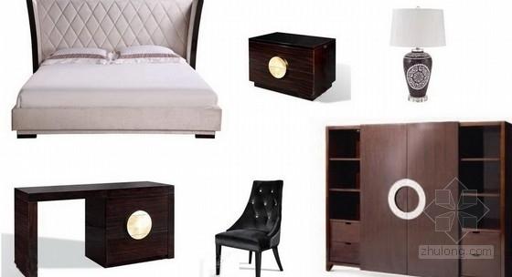 [厦门]某现代风格四套户型样板间软装配饰设计方案