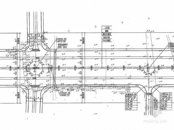 [安徽]城市次干道道路及附属物工程施工图设计128页