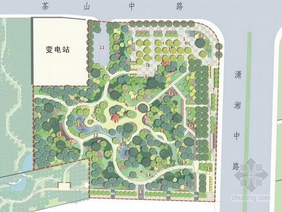 [长沙]茶文化主题滨江综合公园景观设计及初步设计两套方案