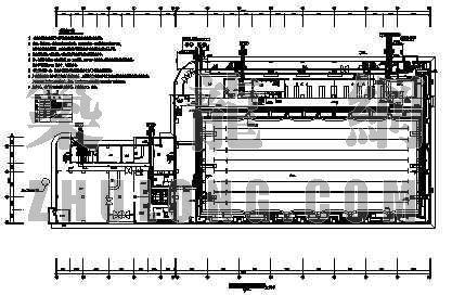 某大学游泳馆给排水施工图