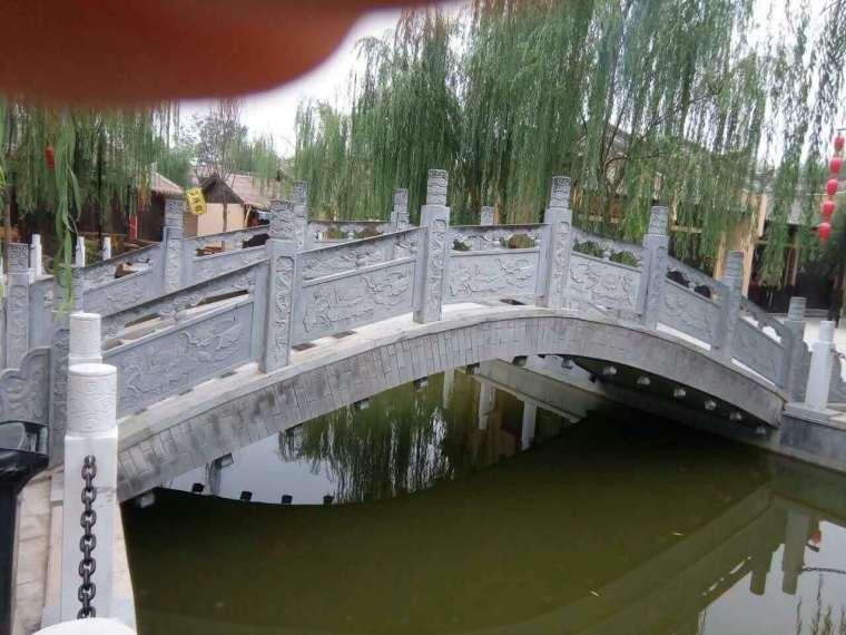 关于景观拱桥的设计图纸