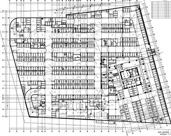 [上海]40层超高层综合楼给排水施工图纸(184米 游泳池 )