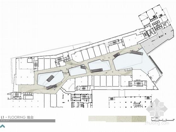 [重庆]时尚商业广场概念方案设计图