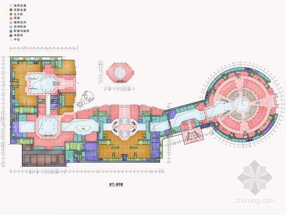 [北京]朝阳区经济型五星级酒店室内设计方案