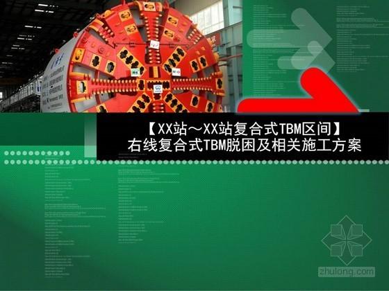[重庆]城市轨道交通工程复合式TBM脱困及相关施工方案解读52页