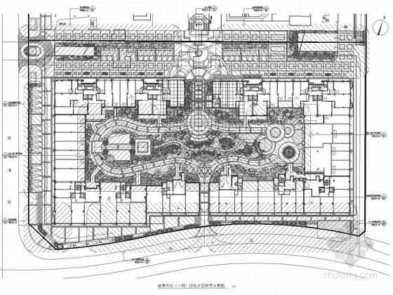[厦门]生态宜居型小区景观规划设计施工图
