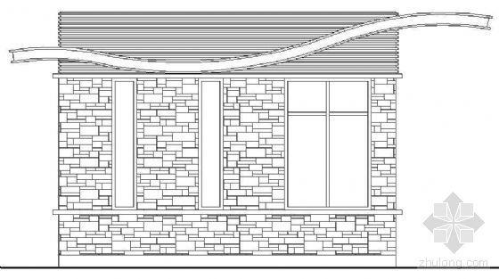 门卫建筑施工详图