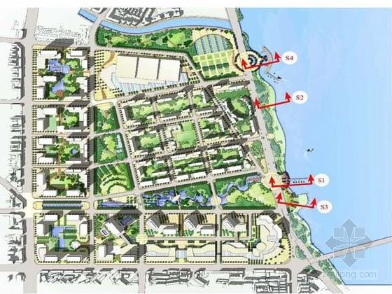 [绵阳]绿色网络模式的滨水城市景观规划方案