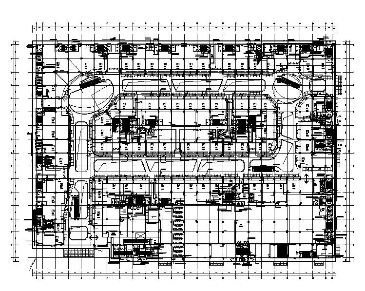 喷水广场给排水资料下载-大连万达广场标准版给排水全套施工图