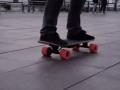 减速还能充电的滑板,你见过吗?