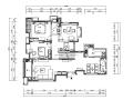 [安徽]现代简约样板间设计CAD施工图(含效果图)