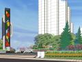 城市街角公园景观设计模型.skp