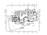 [浙江]欧式风格复式楼设计CAD施工图(含效果图)