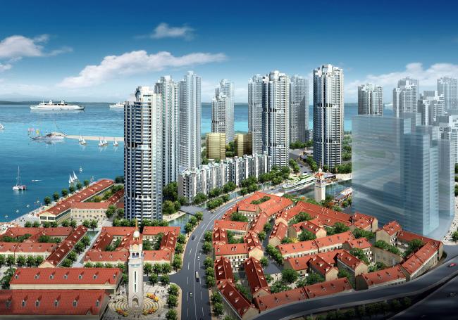 [山东]某小港湾项目规划方案设计文本_1