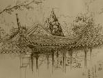 苏州园林手绘