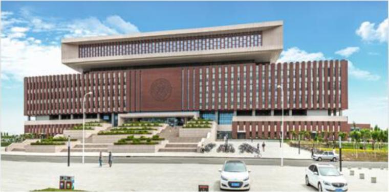 图书馆工程施工质量汇报(鲁班奖,附图丰富)