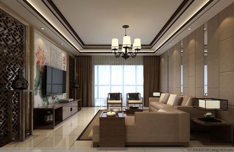华冶翡翠湾 A2-3户型 103平米 三居室 中式古典
