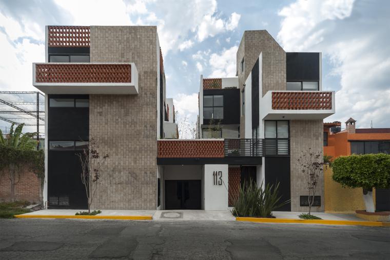 墨西哥Bosques私人住宅