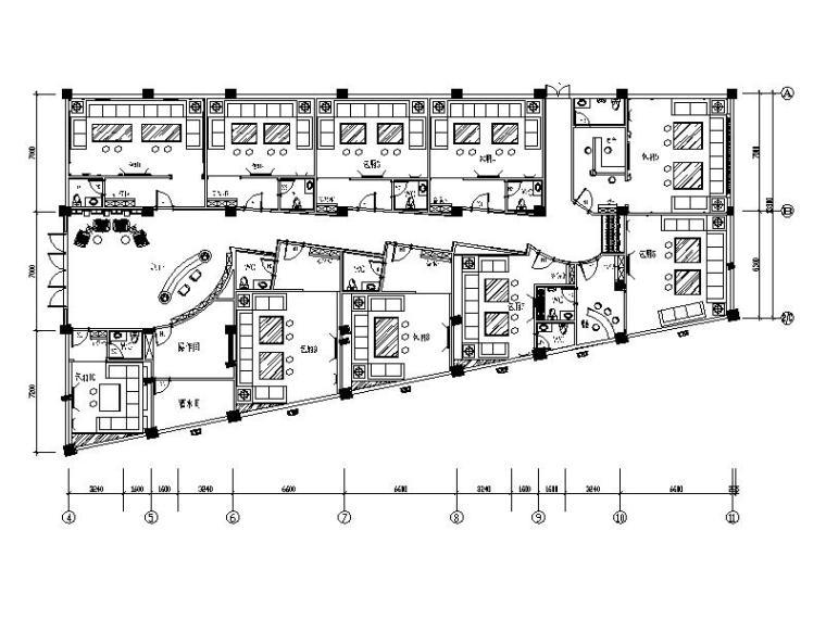 娱乐城豪华欧式风格KTV设计施工图(含效果图)