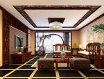 华丽中式客厅3D模型下载