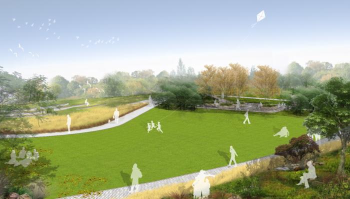 [贵州]绿色生态山体住宅公园景观规划设计方案