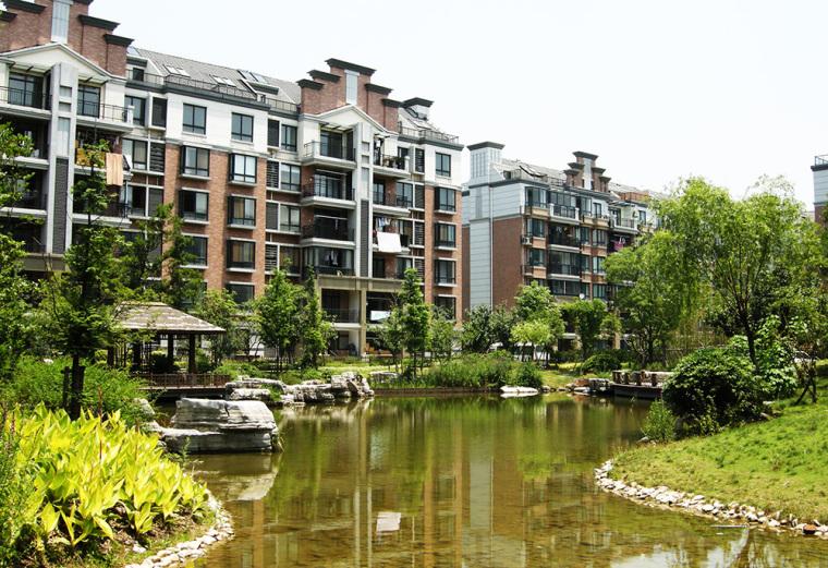 江苏常熟绿地老街景观