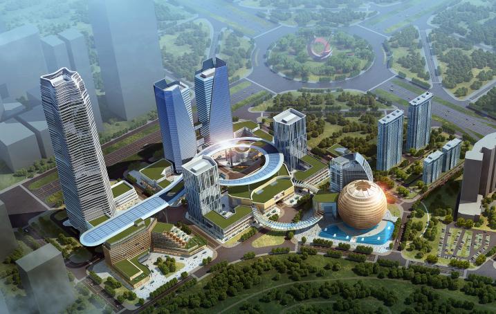 [长春]超大城市综合体——长春龙翔国际商务中心方案文本(PDF147页)