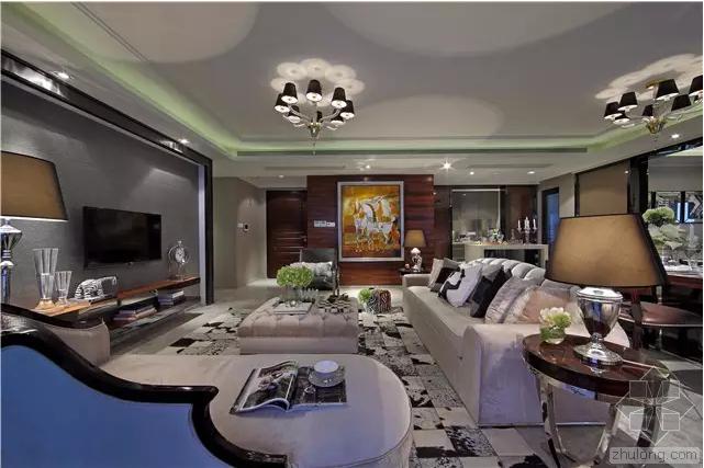 经典美式住宅 打造舒适实用的现代奢华空间