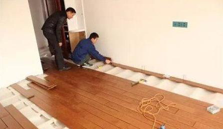 木地板安装前准备事项与安装技巧