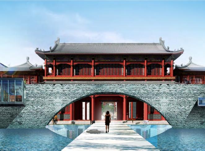[北京]红楼怀搂文化古都酒店概念设计方案文本