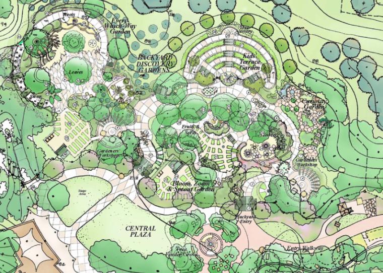 [美国]莽山儿童森林公园全套概念性设计景观方案文本(EDAW)