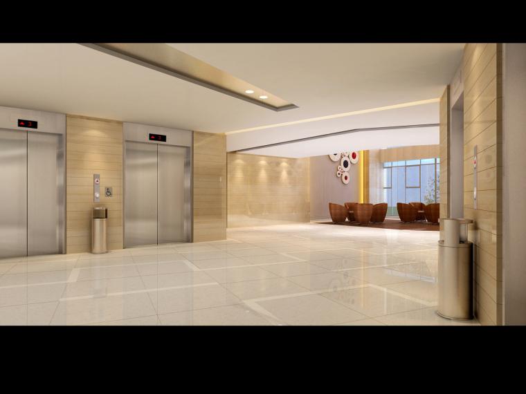 015标准层电梯厅