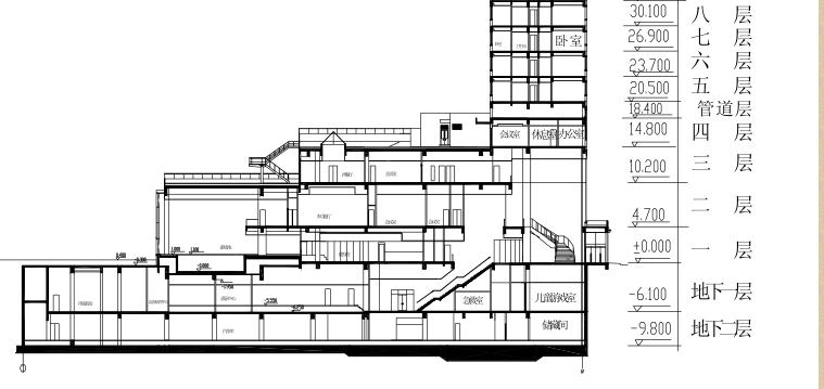 北京国际俱乐部公寓康乐中心工程施工组织设计