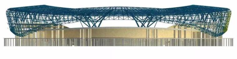 体育场径向环形大悬挑钢结构综合施工技术研究_3