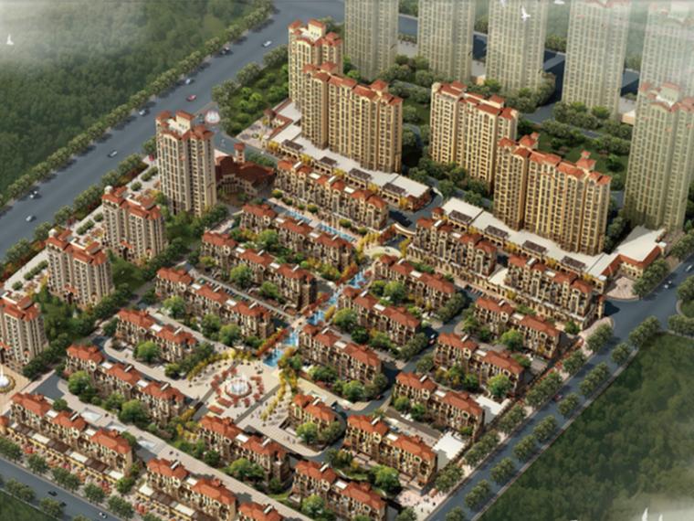 [山东]现代风格青岛半岛蓝湾居住小区规划设计方案文本