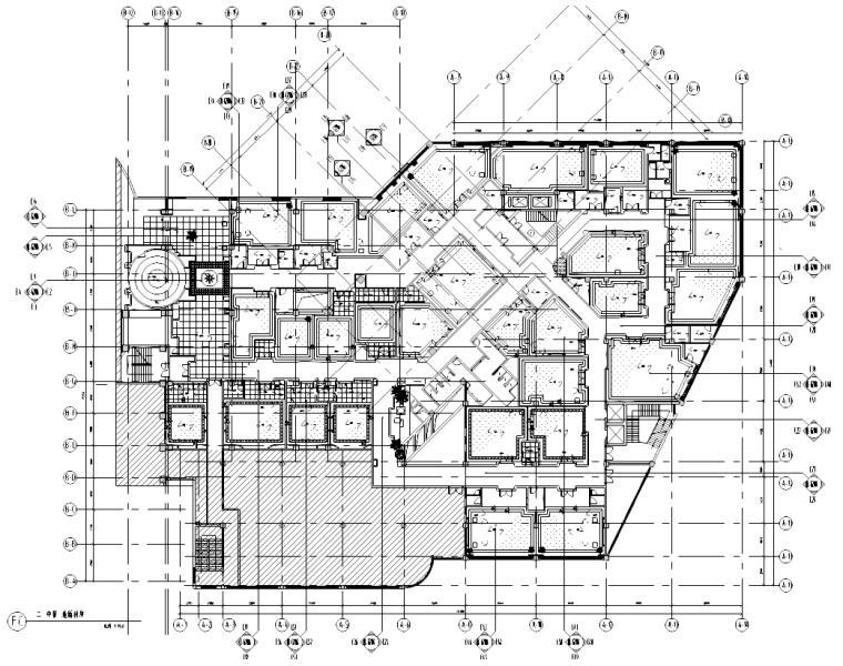 [江苏]现代简约风格中餐厅装修全套施工图