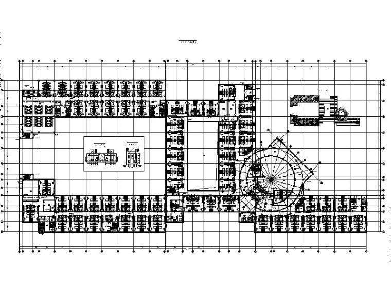[内蒙古]7层国际温泉度假酒店给排水及消防图纸