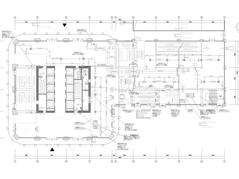 [安徽]超高层商业办公暖通空调全系统施工图(地下5层地上41层)