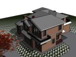 BIM模型-revit模型-别墅模型
