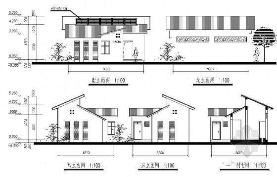 [合集]20套建筑小品——公厕建筑施工图及方案文本_12