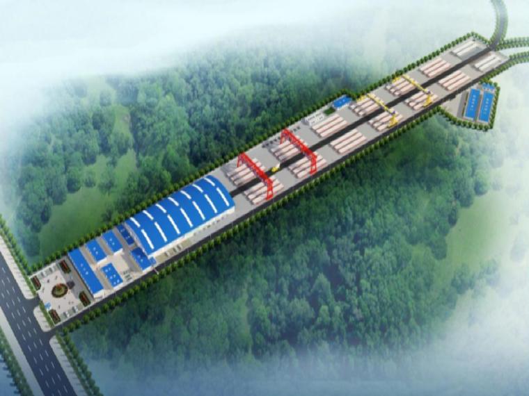 深圳外环高速公路预制梁场建设方案(47页)