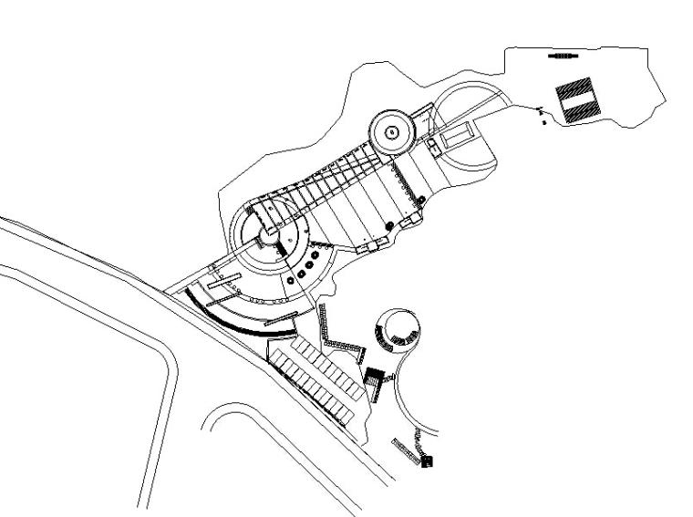 [广东]东莞黄大仙公园扩初设计施工图纸全套(寺庙,牌坊)