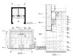 [酒店]电梯厅|方柱|圆柱节点详图