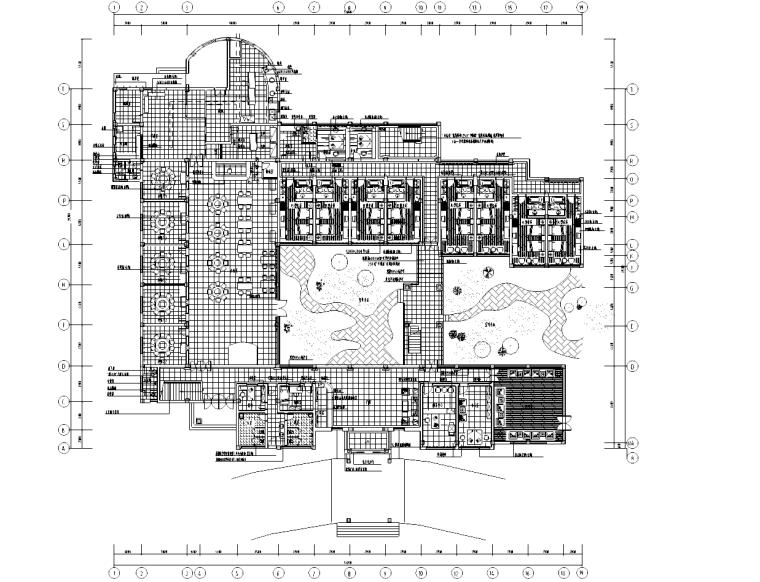 [广东]深圳某四层宾馆装修施工图