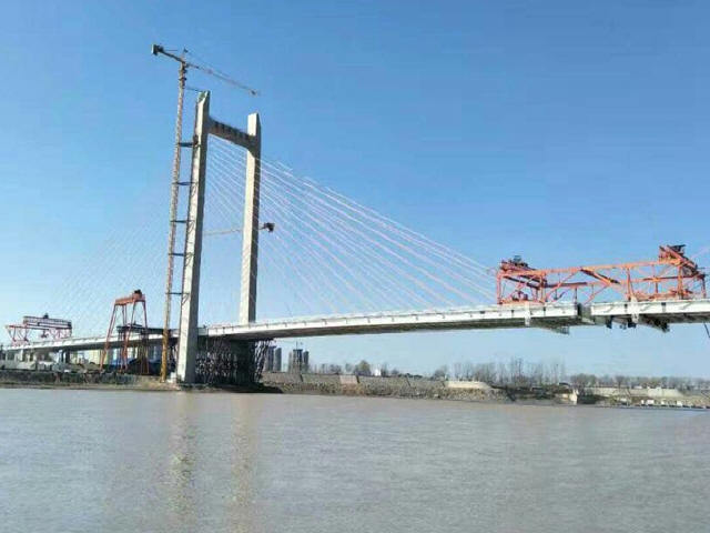 黄河第一跨!济齐黄河公路大桥胜利合龙