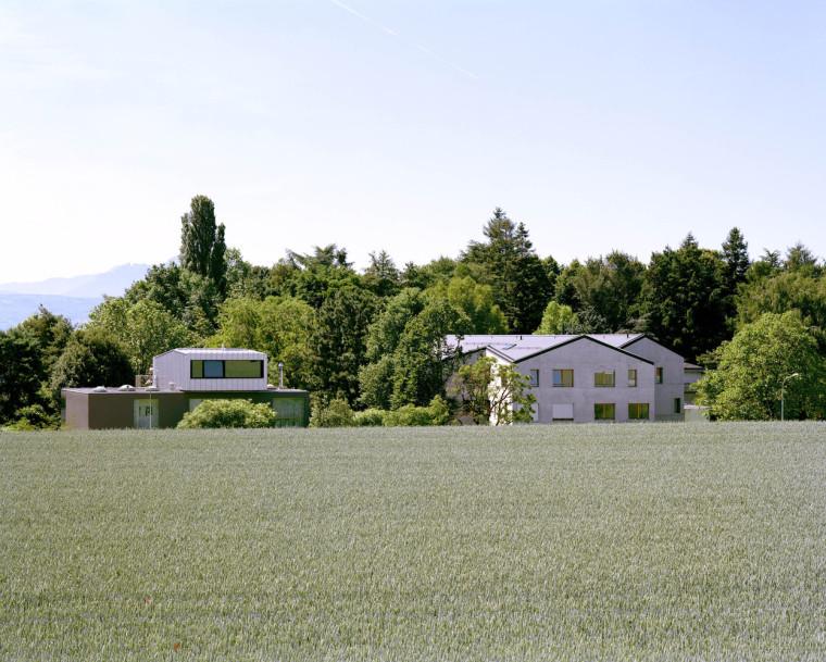 瑞士St Sulpice住宅楼