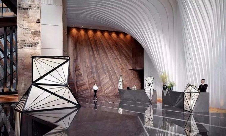 西安雍容盛大的现代君悦酒店室内实景图 (2)