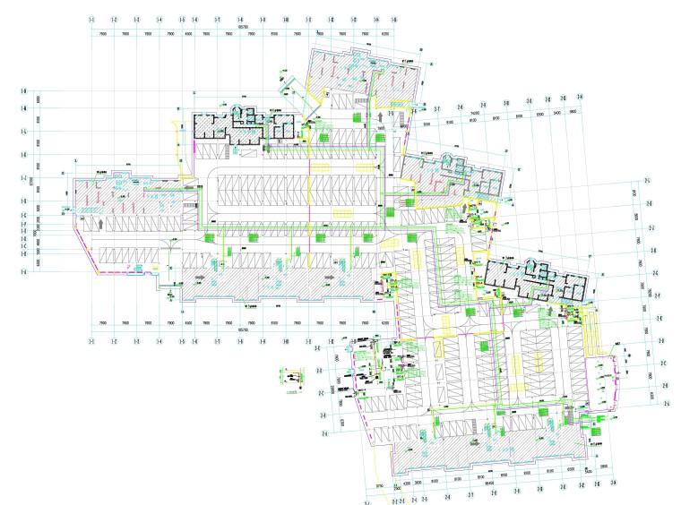 天津生态城某项目地下车库暖通设计