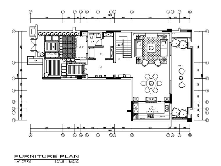 [重庆]新亚洲洋房复式样板房CAD施工图(含实景图)